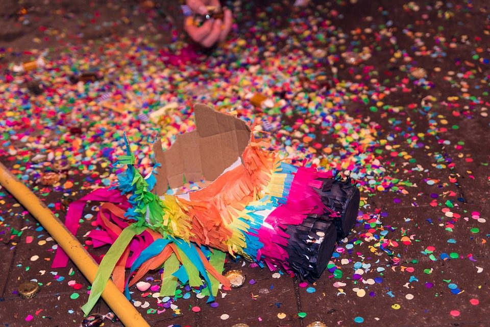 Paper Bag Crafts: How to Make a Paper Bag Piñata