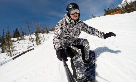 Try Snowboarding: An All-Around Fitness Regimen